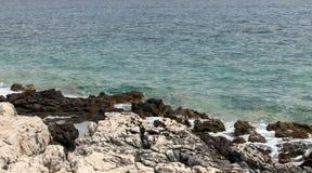 Rocks at sea Stock Photos