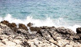Rocks at sea Royalty Free Stock Image