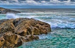 Rocks at the sea Stock Photography