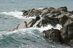 Rocks and sea Royalty Free Stock Photography