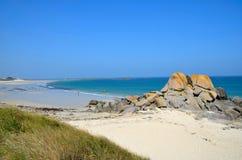 Rocks Sea coast atlantic Stock Images
