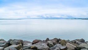 Rocks at sea coast Stock Photography