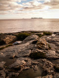 Rocks And Sea At Colonia Stock Photo