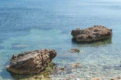 Rocks at Sea royalty free stock photography