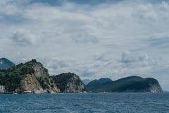 Rocks in the sea, Montenegro Royalty Free Stock Photos