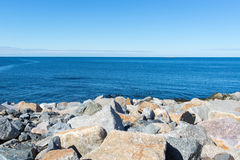 Rocks and sea Royalty Free Stock Image