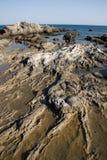 Rocks on a sea shore Royalty Free Stock Image