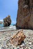 Rocks and sea shore. Stock Photo