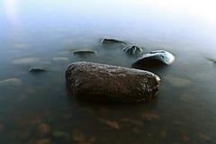 Rocks sea shore Royalty Free Stock Photography