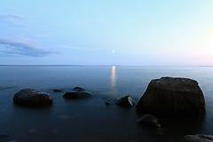 Rocks sea shore Stock Images