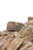 Rocks At Sea Side. Royalty Free Stock Photography