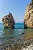 Rocks in the sea Stock Photography