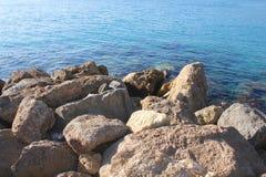 Rocks and the sea Stock Photo