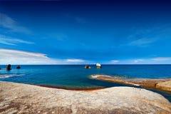 Rocks and sea. Thai koh samui pap and mam Royalty Free Stock Photography