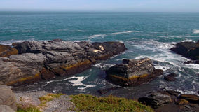 Rocks and sea Royalty Free Stock Image