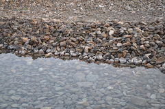 Rocks in the sea Royalty Free Stock Photography