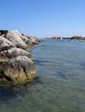 Rocks seascape Stock Photo