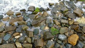 Rocks on seaside Royalty Free Stock Photography