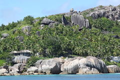 Rocks Seychelles Royalty Free Stock Images