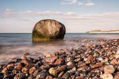 Rocks on shore of the Baltic Sea Royalty Free Stock Image