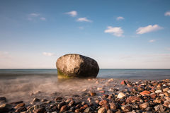 Rocks on shore of the Baltic Sea Royalty Free Stock Photos