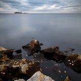 Rocks on the shore Royalty Free Stock Photo