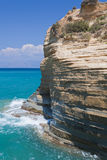 Rocks of Sidari on Corfu Royalty Free Stock Photography