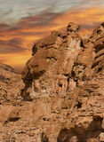 Rocks of Sinai Royalty Free Stock Photography