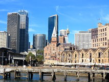 The Rocks skyline, Sydney Stock Image