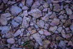 Colorfull rocks abstract Royalty Free Stock Photos
