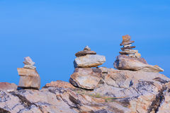 Rocks stack Royalty Free Stock Images