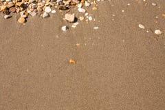 Rocks and Stone beach pattern closeup, Summer seacoast background.  stock photography