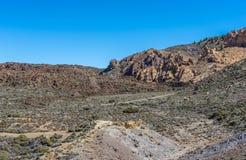 Rocks in stone desert Stock Photo