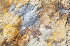 rocks stone and red orange gneiss in the wall   morocco Royalty Free Stock Photo