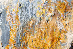 rocks stone and red orange gneiss wall of morocco Royalty Free Stock Images