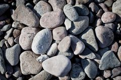 Rocks and stones Royalty Free Stock Photo