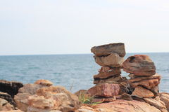 Rocks and stones. Royalty Free Stock Image