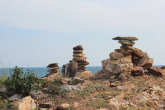 Rocks and stones. Royalty Free Stock Images