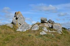 Rocks stones coast atlantic Royalty Free Stock Photography