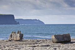 Rocks and Stones. Doolin's Bay, Ireland. Royalty Free Stock Images