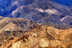 Rocks and stones, mountains, ladakh landscape, Leh, Jammu Kashmir, India Stock Photo