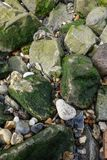 Rocks stones pebbles Stock Image