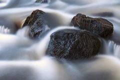 Rocks in stream Royalty Free Stock Photo