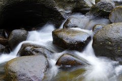 Rocks in stream Royalty Free Stock Photos