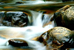 Rocks in the stream Stock Images