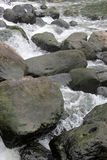 The Rocks and streams Royalty Free Stock Image