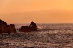 Rocks at sunset Royalty Free Stock Image