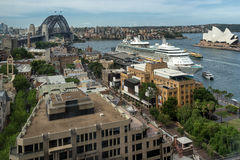 The Rocks in Sydney Royalty Free Stock Image