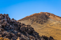 Rocks from Teide Royalty Free Stock Image