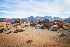 Rocks in Tenerife Royalty Free Stock Photography